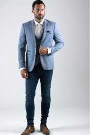 light blue jacket mens bexley light blue notch lapel blazer as seen on ian rush