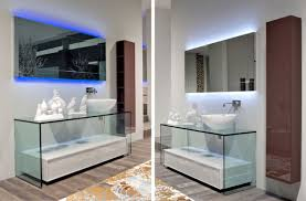 Glass Bathroom Vanity Bathroom Vanities Contemporary Glass Vanity By Antonio Lupi