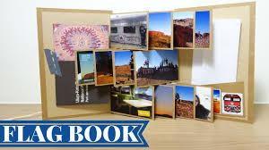 Flag Book 收藏回憶的小相冊 旗幟小書 攝影集 Flag Book Tutorial 安妮