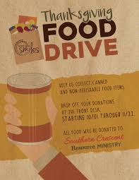 thanksgiving food drive 2017 dentist in locust grove ga