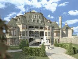 chateau home plans chateau novella luxury house plan small castle plan