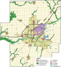 Decatur Illinois Map by Portfolio U2013 Camiros Ltd
