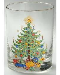 fashioned christmas tree get the deal moderne fashioned christmas tree glassware