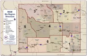 Map Of Colorado Cities And Towns Members Wyoming Association Of Municipalitieswyoming Association
