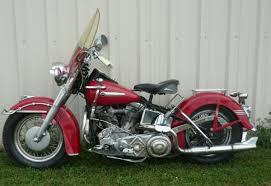 1949 harley davidson hydra glide bike urious
