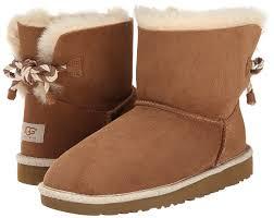 ugg sale bailey bow amazon com ugg australia youth selene boots in chestnut 13 us
