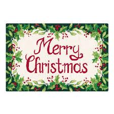 Moose Christmas Tree Skirt Christmas Hooked Rugs Roselawnlutheran