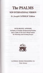 catholic catalog new international version joseph catholic psalms
