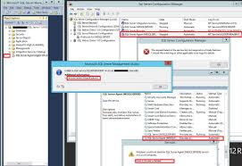 sql server agent fails to start when run under nt service