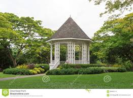 Botanical Gardens In Singapore by Bandstand In Singapore Botanic Gardens Stock Photo Image 58606770