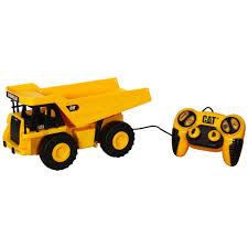dump truck cat job site machines l u0026s remote control vehicle dumptruck