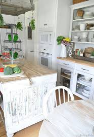 Cottage Kitchen Hutch 209 Best Farmhouse And Cottage Kitchens Images On Pinterest