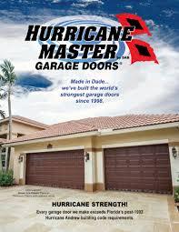 Overhead Door Careers Hurricane Master Garage Doors World S Strongest Garage Doors Home