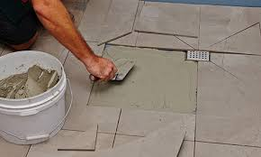 How To Tile A Floor How To Tile A Shower Base Bunnings Warehouse