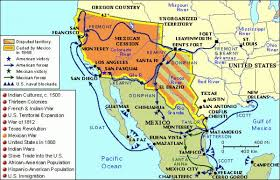 map of mexico with states usa map with mexico major tourist attractions maps file