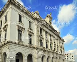algiers algeria french colonial architecture consular palace stock