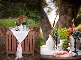 california park wedding al fresco bohemian the sweetest occasion