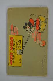 mickey mouse photo album lot detail vintage 1935 mickey mouse original 48 card picture