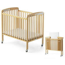 foldable wooden crib for infants and new born thegbabe rentals