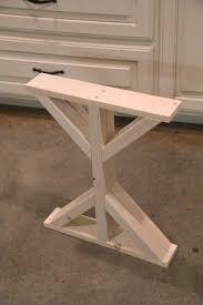 Flat Bar Table Legs Diy Desk Legs Best 25 Desk Legs Ideas On Pinterest Diy Table Legs