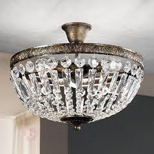 Wohnzimmer Lampen Antik Antik Anmutende Deckenleuchte Andara 40 Cm Kaufen Lampenwelt De