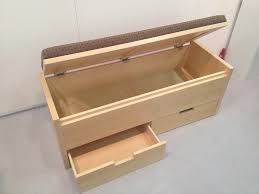 storage bench how to build a storage bench diy tips