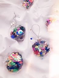 decorating clear christmas balls u2013 decoration image idea