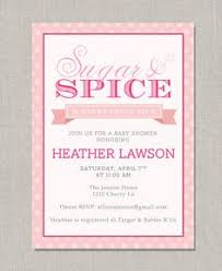 sugar and spice baby shower sugar and spice baby shower invitations sugar and spice baby