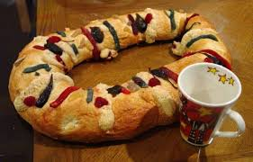 king cake baby jesus rosca de reyes a king cake from south of the border american