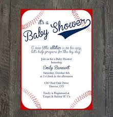 free baseball baby shower invitations templates ideas all