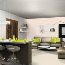 cuisine salon idee amenagement cuisine ouverte sur salon laby co