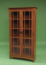 Wood Bookcase With Doors Solid Wood Bookcases With Doors Architecture Options