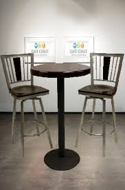 Glass Bar Table And Stools Should Your Bar Stools Swivel