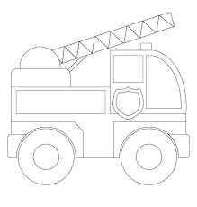 fire truck coloring pages toddler coloringstar