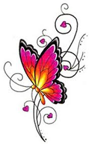 butterfly hearts butterfly tattoos