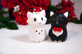 cat wedding cake topper decor cat wedding cake toppers 2536006 weddbook