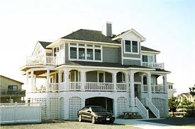 Homes On Pilings Casual Informal And Relaxed Define Coastal House Plans