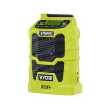 home depot black friday deals riobi tools ryobi 18 volt one compact radio with bluetooth wireless
