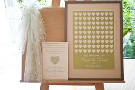 wedding signing frame brambles wedding stationery guest signing frames