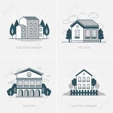 Concepts In Home Design by Vector Graphic Design And Logo Design Template Real Estate