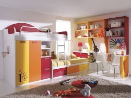 Bed Desk Combo Loft Bed Desk Combo Purple Beauty Stained Wooden Cabinet