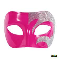 pink masquerade masks mystic silver glitter pink venetian masquerade mask mardi gras
