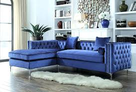 blue sectional sofa with chaise navy blue sectional sofa furniture fancy navy blue velvet sectional