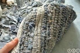tappeti fai da te diy tappeto denim paciuga brega e imbelina