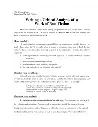 Examples Of Visual Analysis Essays Critical Analysis Essay Example Paper Writing A Visual Analysis