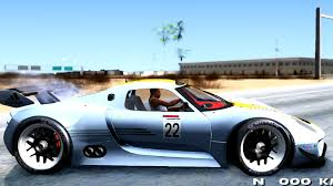 porsche 918 rsr wallpaper porsche 918 rsr gta san andreas youtube