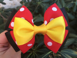 minnie mouse hair bow accessorize in style with a minnie mouse inspired hair bow