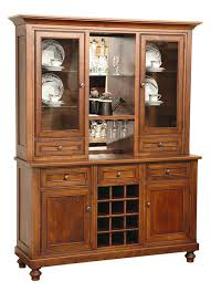 Black Dining Hutch Wine Rack Sideboard Dining Buffet Wine Rack Storage Cabinet Bar