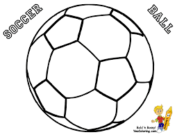soccer ball coloring pages for kids get coloring pages