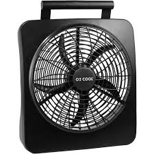 battery operated fans o2cool 10 battery operated fan with ac adapter walmart